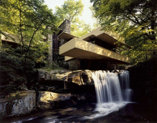 FLW Falling Water, FLW, Falling Water, frank lloyd wright, falling water architecture, modernism, modern architecture