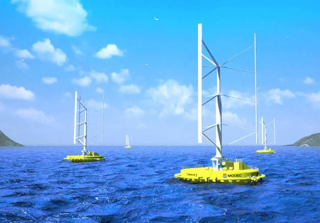 World's First Floating Wind-Current Turbine to be Installed Off Japanese Coast