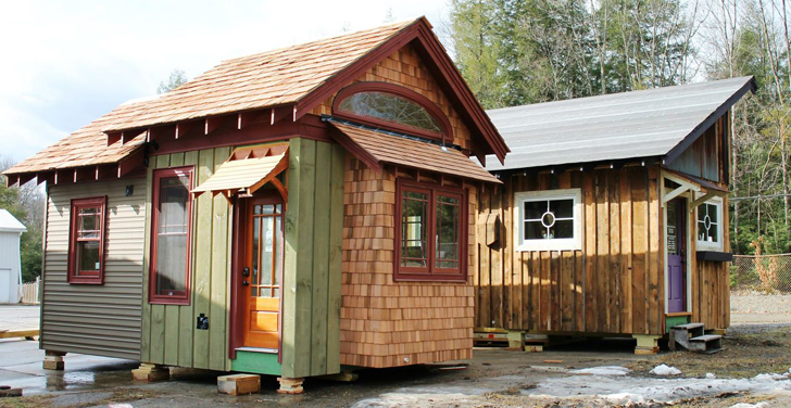 Hobbitat Prefab Micro-Houses Are Built From Reclaimed and Recycled Materials