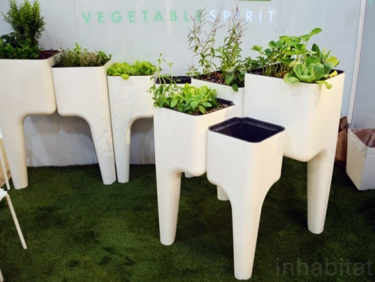 Hurbz Kiga Kitchen Garden, icff, international contemporary furniture fair, new york design week, icff 2013, green design, sustainable design, green design events, design show, nydw, new york design week 2013, green interiors, sustainable interiors, green furniture, eco furniture, green products
