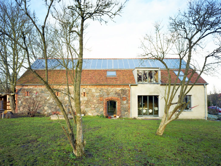 Crumbling Stone Barn Renovated Into Rammed Earth Ihlow House in Germany |  Inhabitat - Green Design, Innovation, Architecture, Green Building