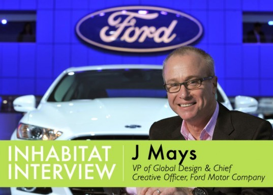Ford Chief Creative Officer, Ford Head of Design, Automotive Designer, auto designer, auto design, green auto design