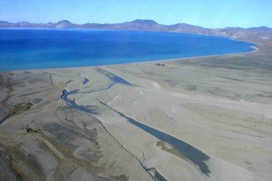 Lake El'gygytgyn, NE Siberia crater lake, climate change, global warming, rising temperatures, climate change research, environmental news, meteorite crater,