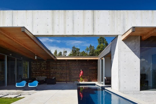 Lavaflow 7, Craig Steely Architecture, hawaii, concrete home, natural ventilation, rainwater collection, solar hot water