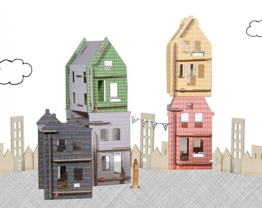 Lille Houses, Kids Crafts,