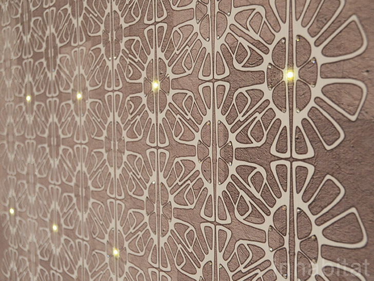 Light Up Your Walls with Mestyles LED Embedded Wallpaper