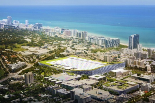Miami Beach Square, BIG, miami beach, miami beach convention center, green roof, urban design, sustainable landscaping