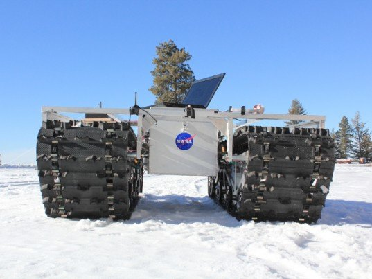 NASA, Grover Eco Rover, Rover, Greenland, Arctic, Arctic ice, climate change, global warming, scientific research, robots
