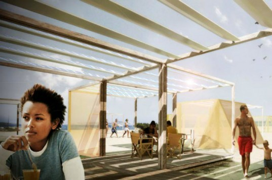 Nomad Off Grid Structures, Filippo Taidelli Architetto, solar powered shelter, modular shelter, coastal architecture, temporary shelter