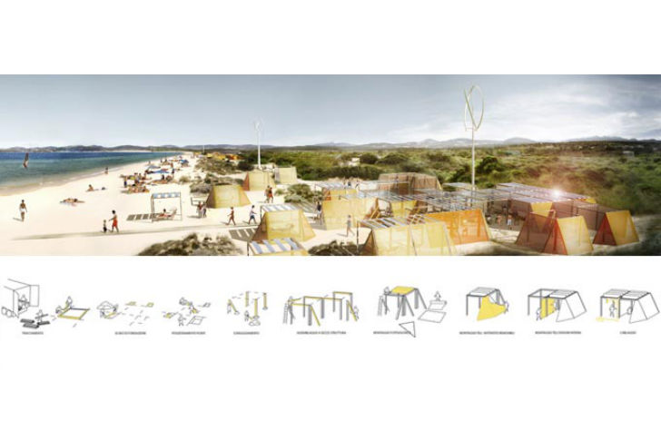 Nomad off grid structures filippo taidelli architetto for Architecture nomade