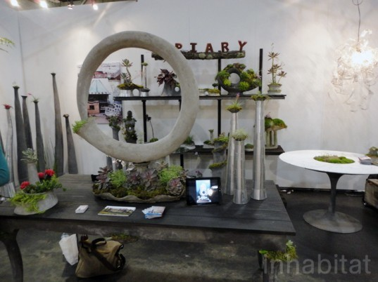 green design, eco design, sustainable design, ICFF, Opiary, planter table, recyclable material, indoor gardening, urban garden