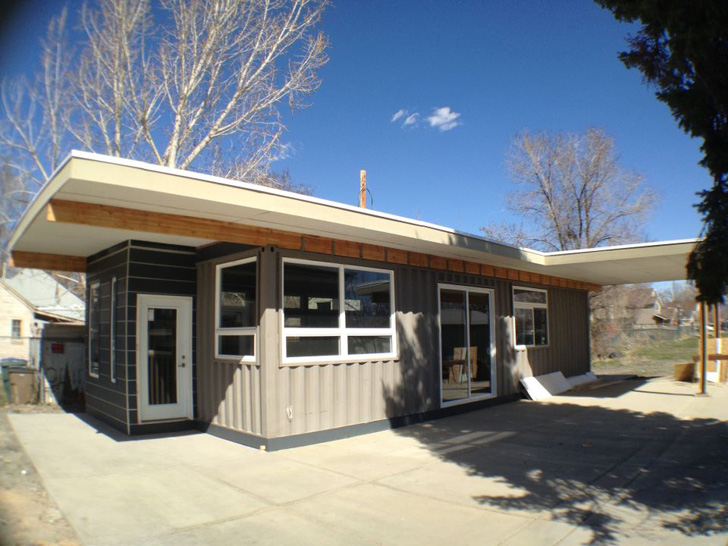 Utah 39 s sarah house project upcycles shipping containers - Affordable container homes ...
