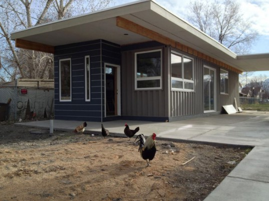 green design, eco design, sustainable design, shipping container home, Salt Lake City affordable housing, Sarah House Project, Jeffrey White