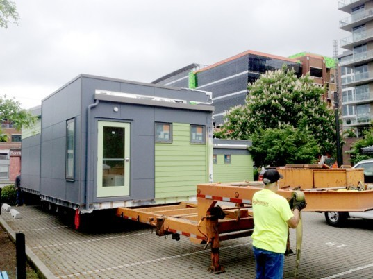 Seed Modular Classroom : Method homes and seed collaborative unveil completely self
