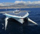 Tûranor PlanetSolar: World's Largest Solar-Powered Boat Sets Transatlantic Speed Record