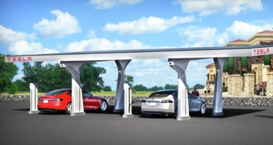 Tesla Electric Vehicle, Tesla motors, Tesla Supercharging Stations, Tesla charging stations, Tesla superchargers, Tesla charging, electric vehicles, charging electric vehicles, Tesla charging network, Tesla electric cars, solar power charging, solar power charging stations, Tesla solar power, green transportation