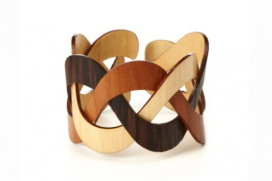 """11 eco-tastic gifts for mother's day, Mother's Day, green gifts, green holidays, green gift guide, lotions, eco-gifts, sustainable gifts, fair trade gifts, natural materials, eco-jewelry, upcycled gifts, recycled gifts, recycled materials, handmade gifts, Novica, VivaTerra, Indigenous, South America, Trinity Wooden Cuff, Succulent Wall Planter Kit, Airplane Wrap, Recycled Glass Balloon Vase, Buddha Belly Tea Kettle, Diamond Hobo Bag, Chrysocolla Cocktail """"Hug"""" Ring, Forest Pool Necklace, Organic Aromatherapy Body Soap, organic soap, organic lotions, organic ingredients, Redwood Forest bonsai kit, Orchid-infused lotion, Piper Tate"""