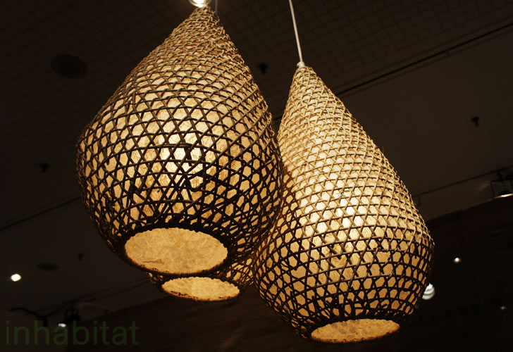 Tucker robbins transforms indonesian fishing baskets into for How to make a beautiful lantern
