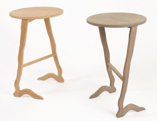 New York-based designers, Ethan Abramson , green furniture, eco furniture, eco stools, firmly rooted furniture