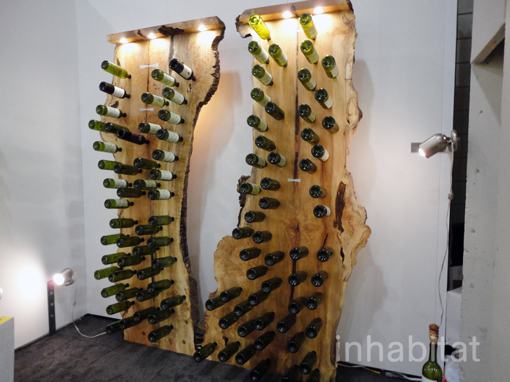 Fallen Tree Wine Rack Holds A Wine Collection Of Epic Proportions At