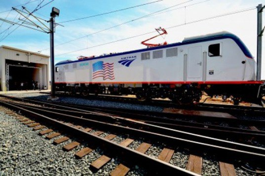 amtrak, acs-64, siemens, northeast corridor, train, electric, locomotive, amtrak cities sprinter