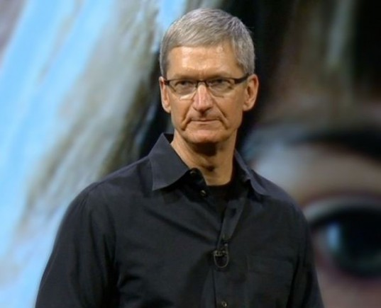 tim cook, apple, ceo, announcement, environment