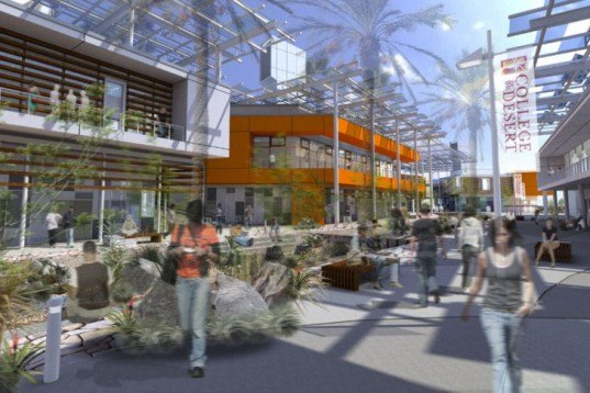 College of the Desert, HGA Architects, Palm Springs, Beyond Net Zero, Net Zero Energy
