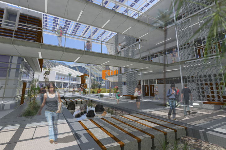 Hga Architects West Valley Campus At College Of The Desert Will