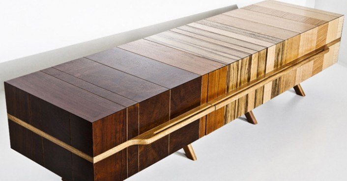 Chissick Design Turns Salvaged Wood Scraps Into Beautiful Fused Furniture    Inhabitat   Green Design  Innovation  Architecture  Green Building. Chissick Design Turns Salvaged Wood Scraps Into Beautiful Fused