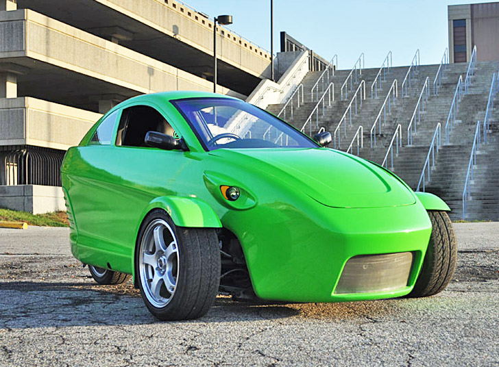 elio motors unveils a three wheeled 84 mpg car that only costs 6 800 inhabitat green design. Black Bedroom Furniture Sets. Home Design Ideas