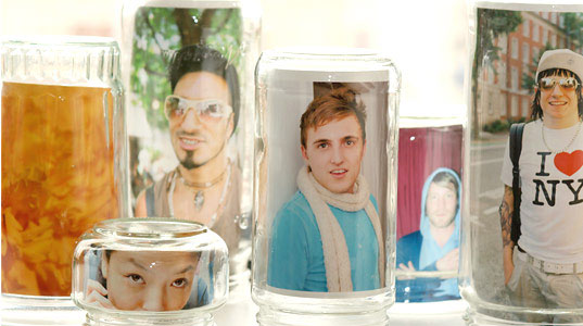 DIY Gift Idea: Create Glass Jar Picture Frames for Mother's Day