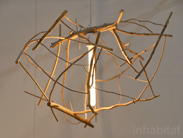 Design & Hinterlandu0027s Scatter/Gather Lamp is Made from Salvaged Driftwood ...