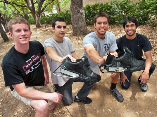 Rice University, engineering students, PediPowers, kinetic energy, energy generating clothing, energy generating shoes, battery, mechanical engineering, kinetic