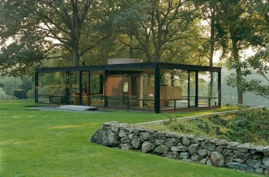 philip johnson glass house, philip johnson, glass house, glass house CT, modern architecture