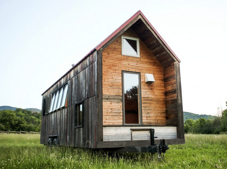Aaron Marets 200 sqft Pocket Shelter is an Adorable Tiny Home on