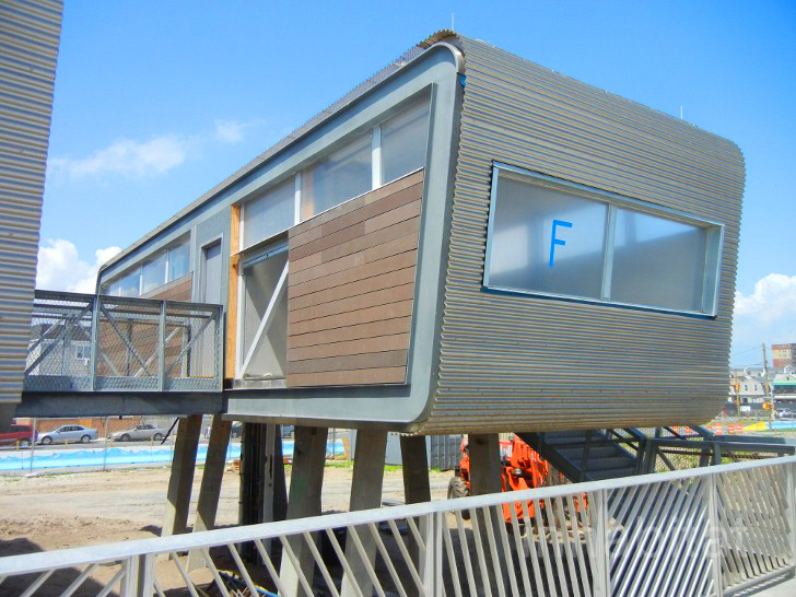 Garrison Architects, Rockaways, Rockaway Beach, Rockaway Beach Pods, Green  Building, Green