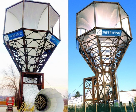 SheerWind, INVELOX, wind turbines, tunnel wind turbine system, wind power, wind energy, traditional wind turbines, INVELOX system, SheerWind INVELOX