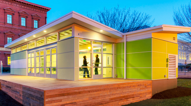 Perkins + Will's Prefab Sprout Space Classroom is a Healthy, Green Learning Environment