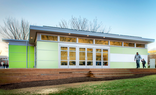 Sprout Modular Classroom ~ Sprout space prefab classroom by perkins will