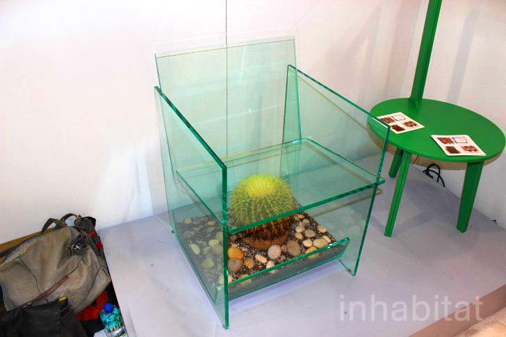 terrarium furniture. deger cengizu0027s threatening cactus terrarium chair puts sitters on the edge of their seats inhabitat green design innovation architecture furniture