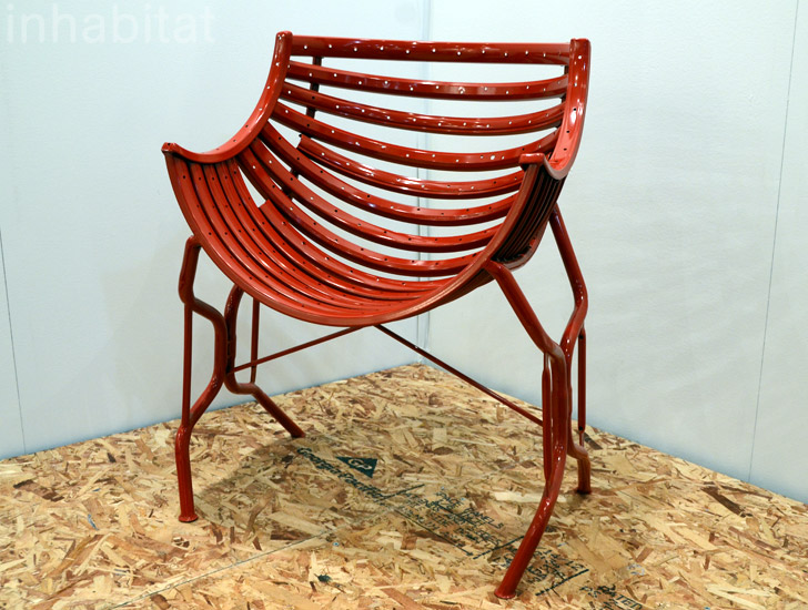 The Recycler Tub Chair Made From, Recycled Bike Furniture