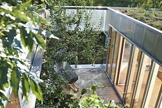 AL1, polycarbonate, translucent, Austria, energy-efficient, open plan, green roof, composite, natural light, Architecture, Daylighting, Green Materials, green Interiors,
