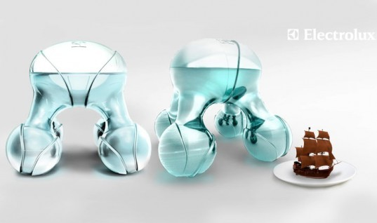 Atomium, Electrolux Design Lab, Luiza Silva, 3D Food Printer, Design for Children, Innovative Design, Innovative Food Creation, Food Innovation, Printing Food, Deconstructed Food Molecules, Food for Children