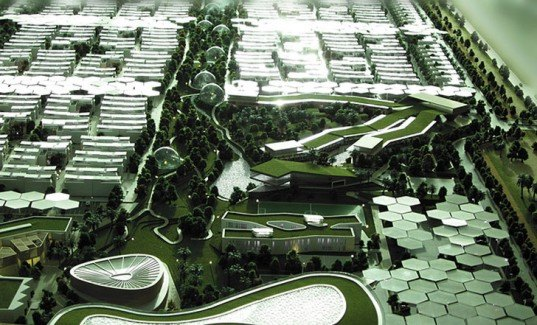 Dubai Sustainable City, Baharash Architecture, Dubai Architecture, architecture competition 2013, sustainable city, Stringa Planning Studio, city master plan, green city