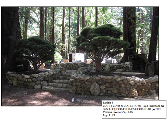 green design, eco design, sustainable design, Sean Parker, Sean Parker trashes redwood forest, Sean Parker Wedding, California Coastal Commission, Alexis Madrigal, The Altantic, Save the Redwoods League