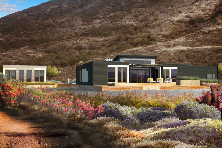 Blu homes unveils southern california breezehouse prefab for Dwell modular homes
