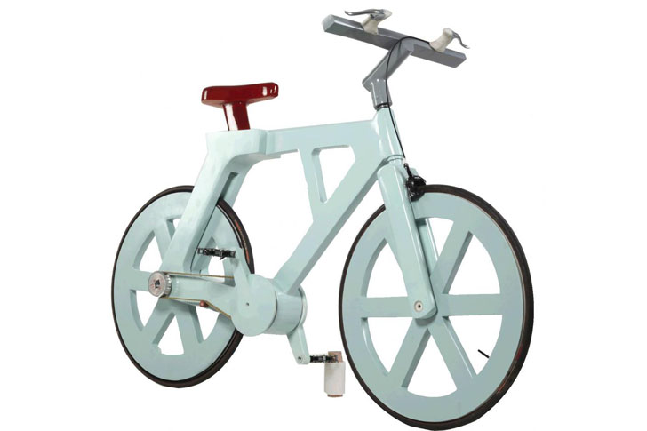 Cardboard Technologies announces plans to produce $10 cardboard bicycle