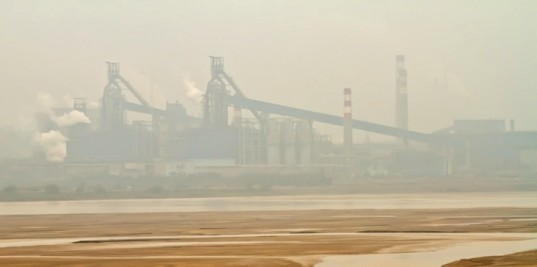 Caijing, China, toxic wastelands, pollution, groundwater pollution, urban planning, environmental news, Chinese factory lands, polluted land in China