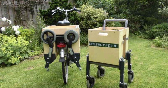 Diy Learn How To Build A Portable Shopping Cart That