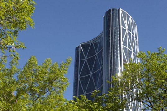 green design, eco design, sustainable design, Calgary, Foster and Partners, The Bow, sky gardens, Encana, Cenovus, Second tallest building in Canada, Tallest building in Calgary